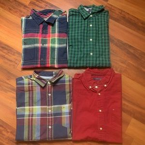 *LOT OF 4* Tommy Hilfiger Button Down